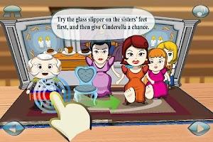 Screenshot of Cinderella 3D Pop-up Book Lite