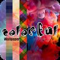 colorful  wallpaper icon