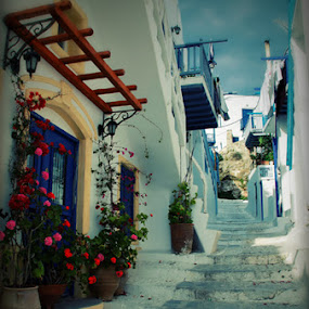 Greece by Europa Films - City,  Street & Park  Vistas ( greece, mediterranean, street, town )