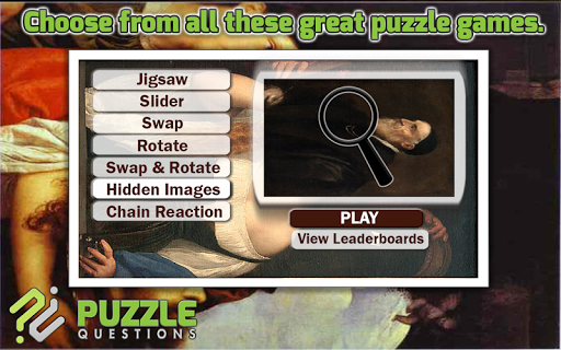 Art Puzzle Games: Titian