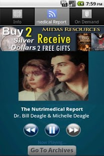 The Nutrimedical Report - screenshot thumbnail