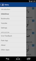 Screenshot of Prophets of Islam with Audio