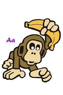 ABC字母德國兒童