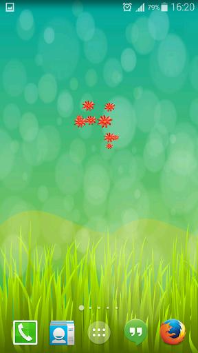 꽃 라이브 배경 화면