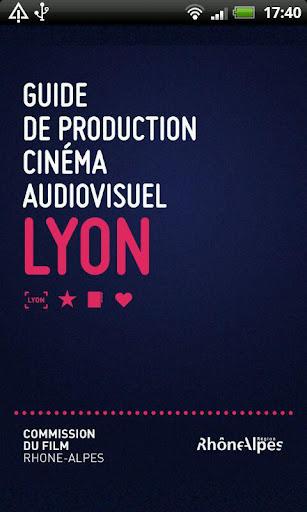 Guide production cinéma lyon