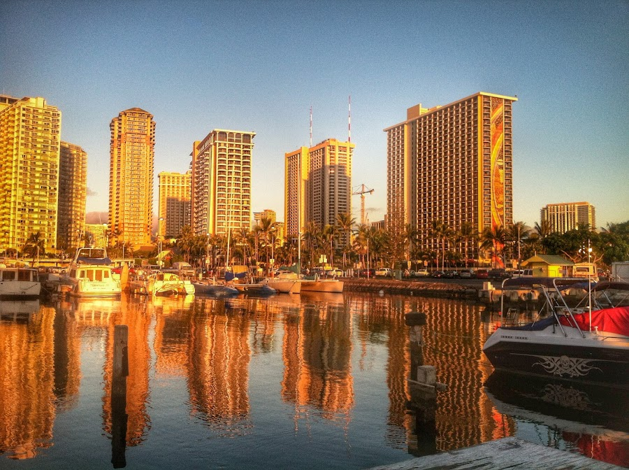 Reflections by Christy Sawyer - Buildings & Architecture Office Buildings & Hotels ( water, hotel )