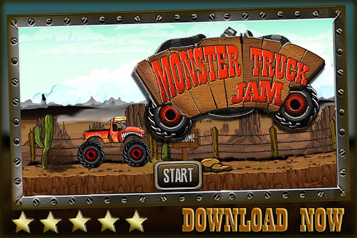 Monster Truck Jam - Car Crush