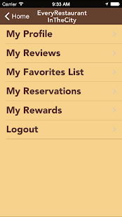 Restaurant Locator- screenshot thumbnail