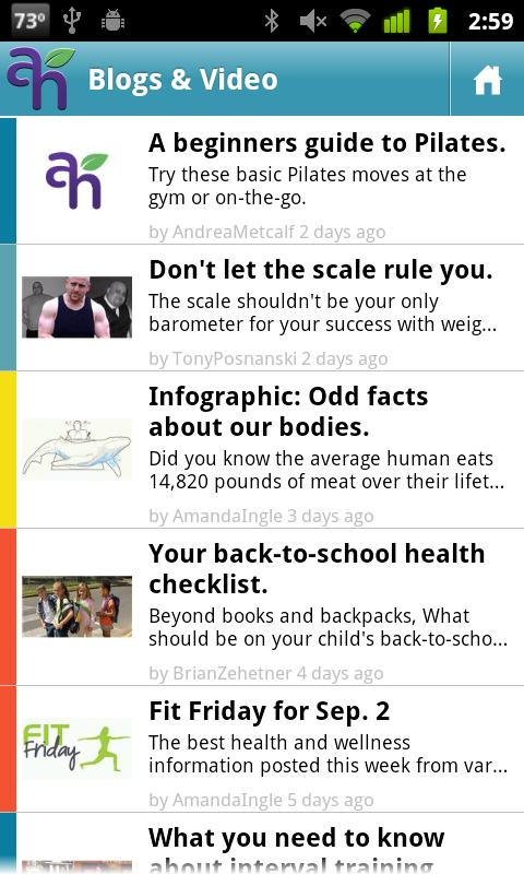 Anytime Health Mobile - screenshot