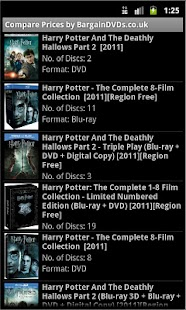 Compare DVD or Blu-ray Prices - screenshot thumbnail
