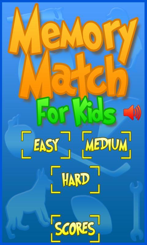 Memory Match For Kids - screenshot