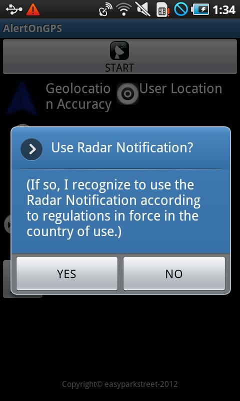 Radar Over GPS - screenshot