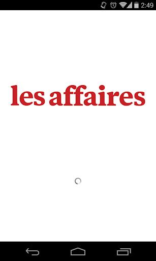 免費新聞App|Les Affaires|阿達玩APP