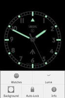 Screenshot of Timefactors Watches (Clock)