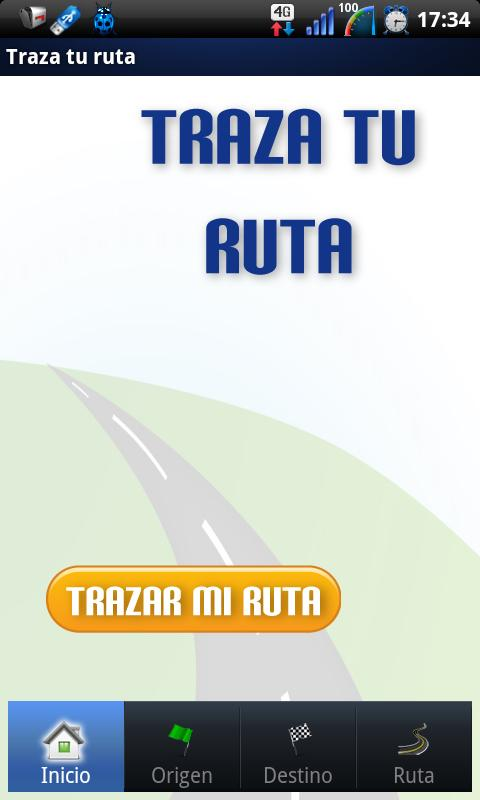 Traza tu ruta - screenshot