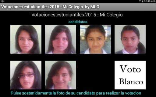 Votaciones Estudiantiles
