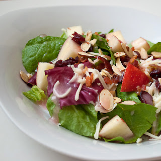 Luncheon Salad with Pretty in Pink Dressing.
