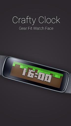 Crafty Clock for Gear Fit