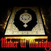 Quran Maher Al Muaiqly AUDIO