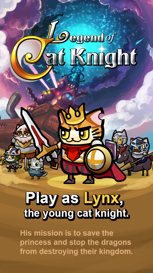 Legend of Cat Knight v1.0.0 MOD [Unlimited Money] Apk