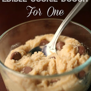 Edible Cookie Dough for One Recipe