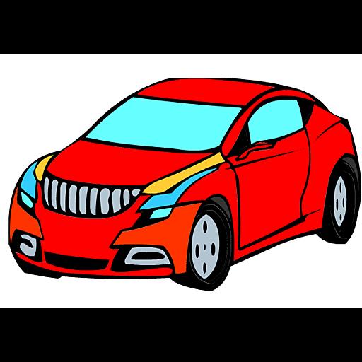 Race Car Coloring Game LOGO-APP點子