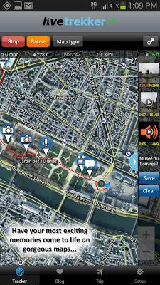 LiveTrekker - screenshot
