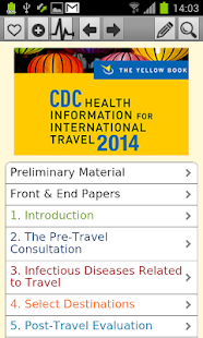 CDC 2014 - The Yellow Book- screenshot thumbnail