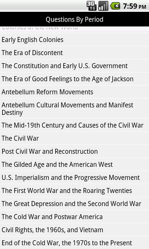 500 AP U.S. History Questions - screenshot
