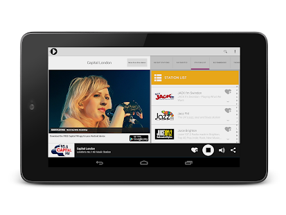 Radioplayer Tablet :: UK Radio - screenshot thumbnail
