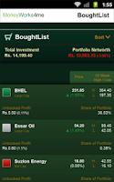 Screenshot of My Stock Genie - Indian Stocks