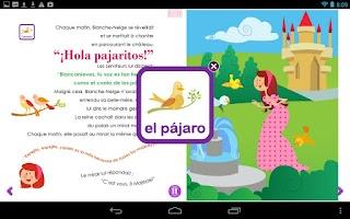 Screenshot of Je m'amuse en Espagnol