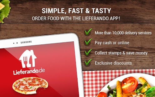 Lieferando.de: Order Food - screenshot thumbnail