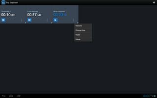 Screenshot of Tiny Stopwatch