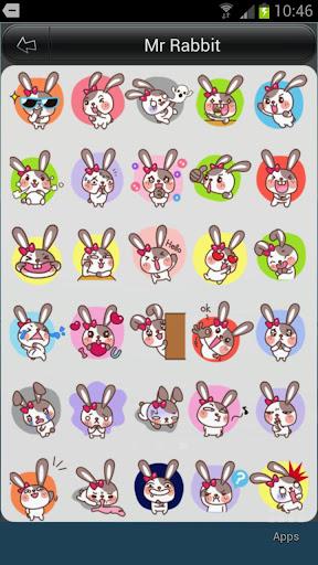 Mr Rabbit Animation for SayHi