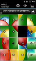 Screenshot of Geser Slide Puzzle