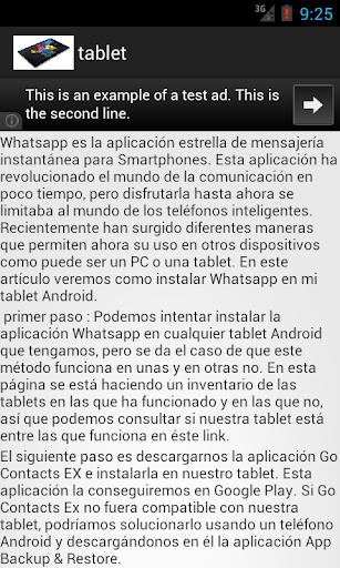 instalar whasap en tablet