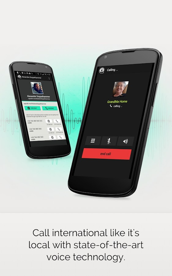 UppTalk Free Calls Text & Chat- screenshot