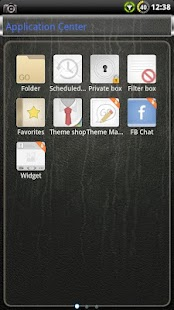 Glass GO SMS Theme- screenshot thumbnail