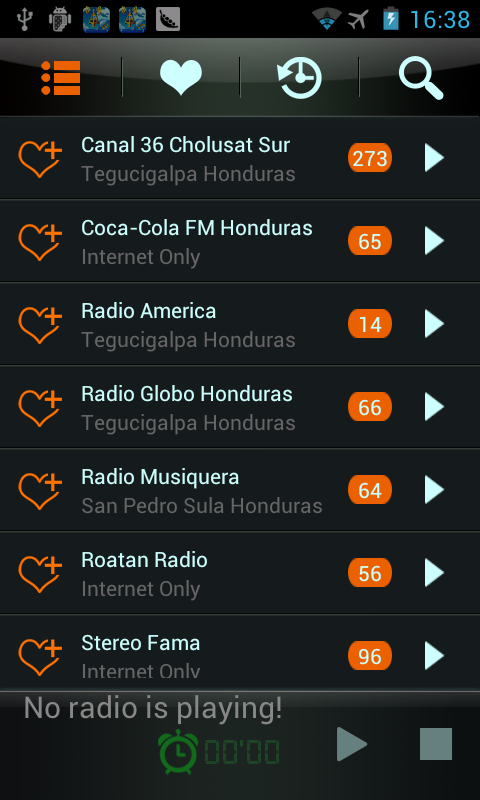 Honduras Radio - screenshot