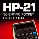 HP21 scientific RPN calculator