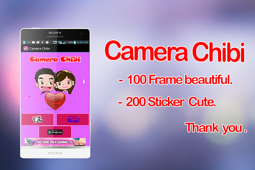 Chibi Camera - photo frames