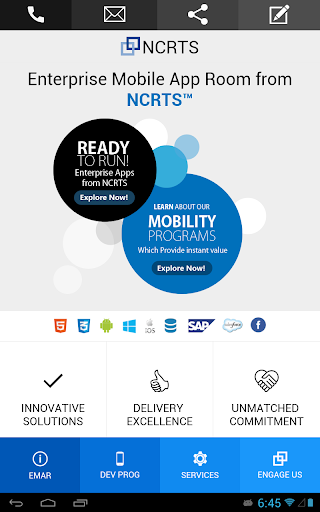 NCRTS Corporate App