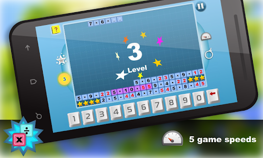 Math.Multiplication table Free - screenshot thumbnail