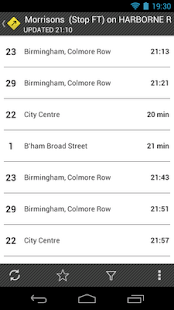 UK Bus Times - Catch That Bus!- screenshot thumbnail