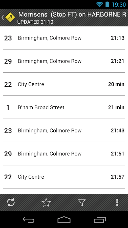 UK Bus Times - Catch That Bus!- screenshot