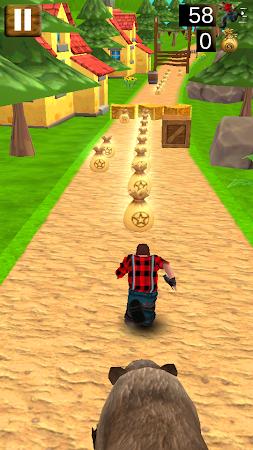 Danger Runner 3D Bear Dash Run 1.5 screenshot 1646791