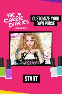 Carrie Diaries Purse-onalizer - screenshot thumbnail