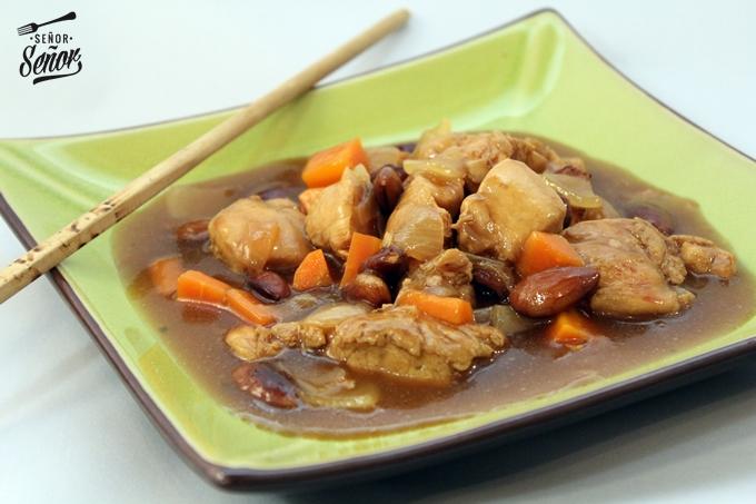 Chinese-style Almond Chicken