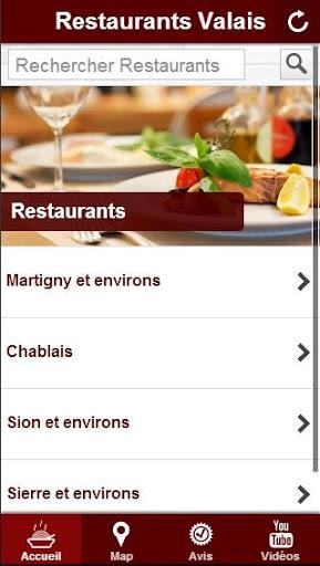 Restaurants Valais